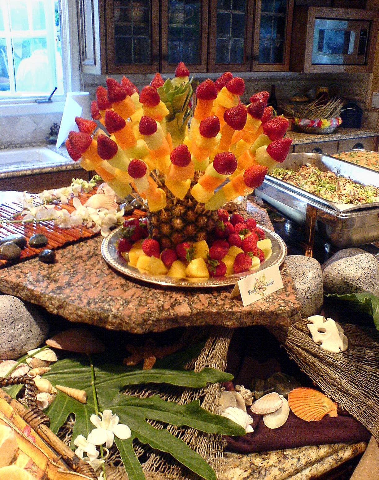 hula party food ideas